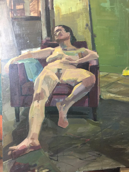 Reclining Nude by Brent Holland at Studio Holland Art