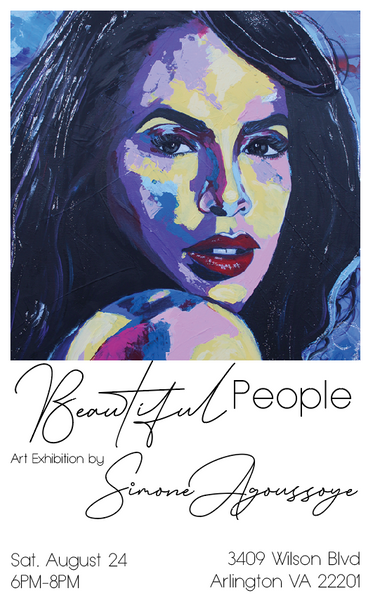 Beautiful People Art Exhibition by Simone Agoussoye