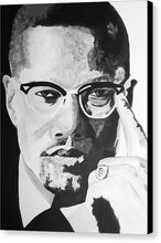 Load image into Gallery viewer, Malcom X - Canvas Print