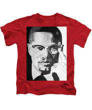 Load image into Gallery viewer, Malcom X - Kids T-Shirt