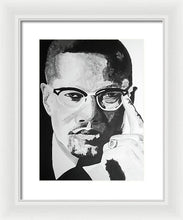 Load image into Gallery viewer, Malcom X - Framed Print