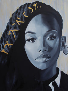 Brandy - Original Oil Painting