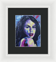 Load image into Gallery viewer, Aaliyah II - Spontaneous Realism - Framed Print