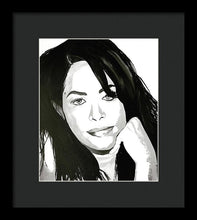 Load image into Gallery viewer, Aaliyah - Framed Print
