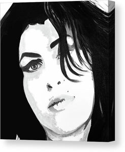Amy Whinehouse - Canvas Print
