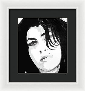 Amy Whinehouse - Framed Print