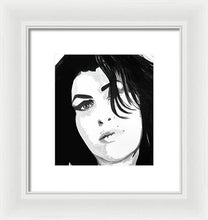 Load image into Gallery viewer, Amy Whinehouse - Framed Print
