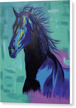 Load image into Gallery viewer, Blue Stallion  - Canvas Print