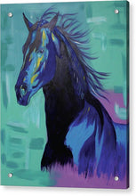 Load image into Gallery viewer, Blue Stallion  - Acrylic Print
