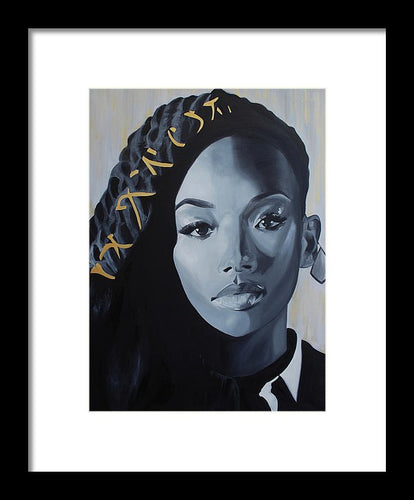 Brandy - Framed Print