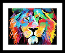 Load image into Gallery viewer, King Of Courage  - Framed Print