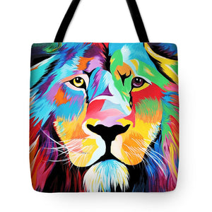 King Of Courage  - Tote Bag