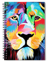Load image into Gallery viewer, King Of Courage  - Spiral Notebook