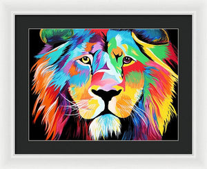 King Of Courage  - Framed Print