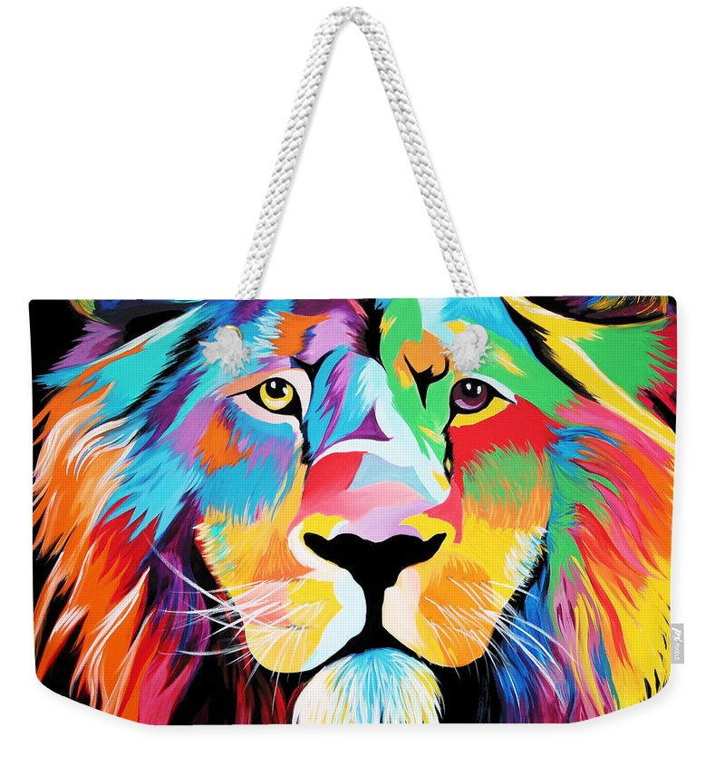 King Of Courage  - Weekender Tote Bag