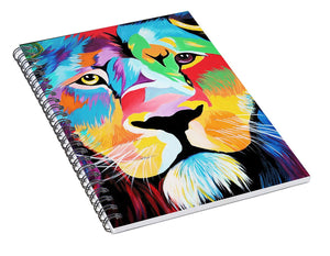 King Of Courage  - Spiral Notebook