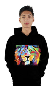 King of Courage - Lion Hoodie Limited Edition
