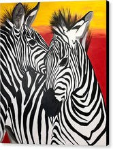 Load image into Gallery viewer, Zebras - Canvas Print