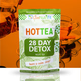 HOT TEA for Weight Loss - 28 Days Detox - Day & Night