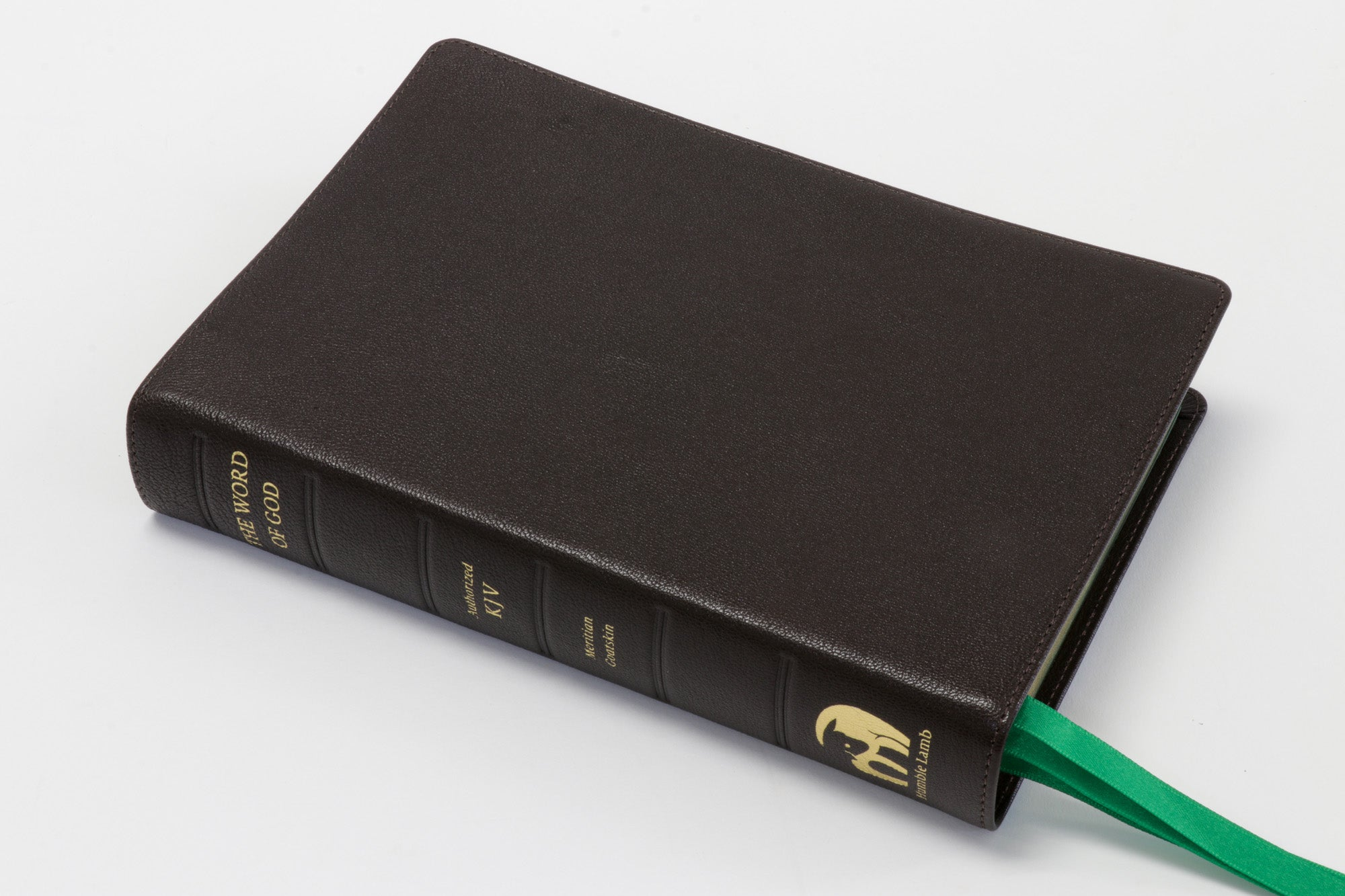 KJV Lion - Dark Brown (Paste-off) - Premium Bible with illustrations from Gustave Dore