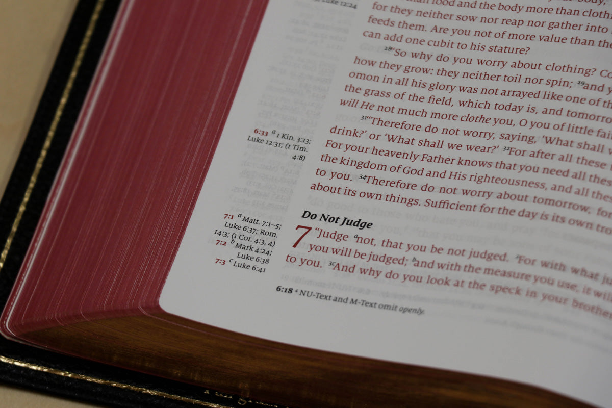 Word of God - Cardinal Red Edition - Humble Lamb
