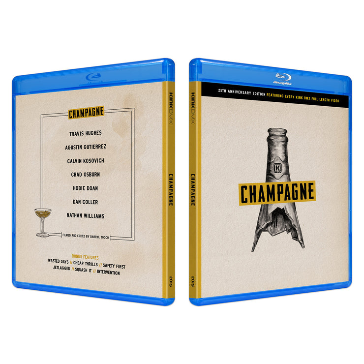 Champagne Collectors Blu-Ray