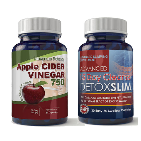 Apple Cider and Detox Slim Combo pack