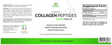 Hydrolyzed Collagen Peptides 750mg - Protein Powder  (120 Capsules)