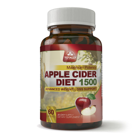 Apple Cider Vinegar Diet Capsule 1500 (60 capsules)