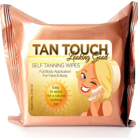 Tan Touch Sunless Bronze Self Tanning (20-piece Towelettes)