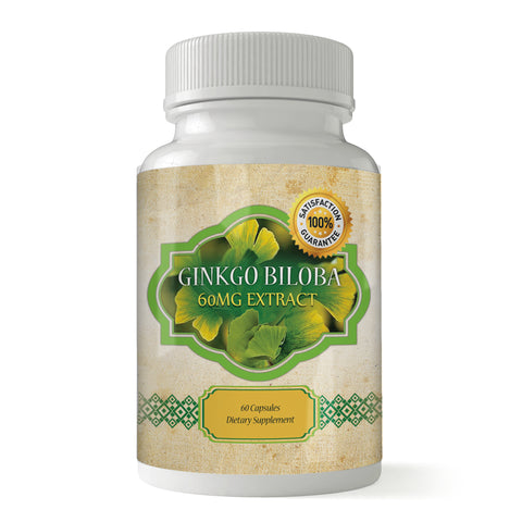 Ginkgo Biloba Powerful Brain Booster (60 capsules)