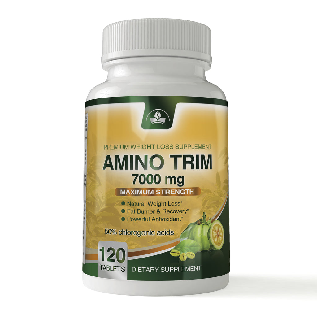 Amino Trim 3 In 1 Fat Burner Garcinia Cambogia Bcaa Green Coffee
