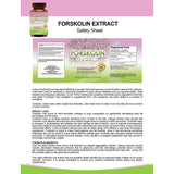 Forskolin Extract for Weight Loss (60 capsules)