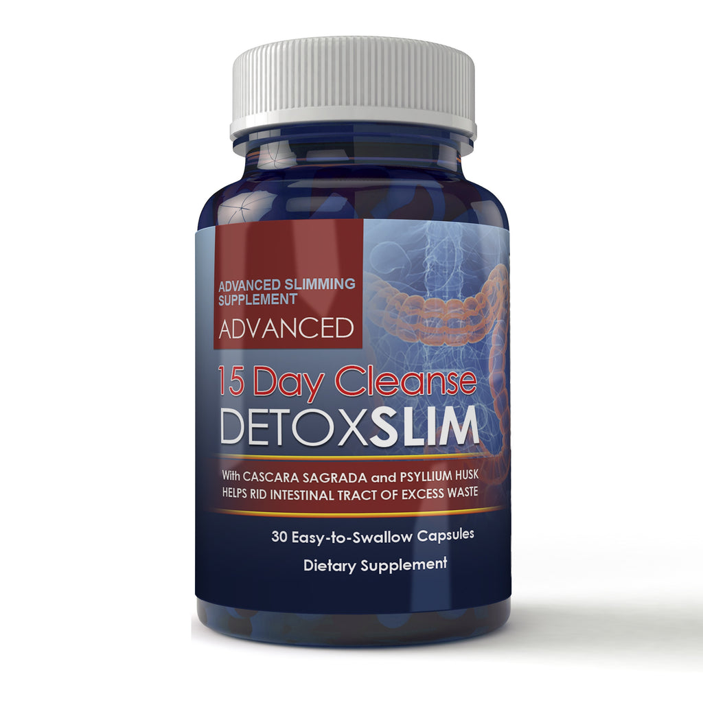 15 Day Detox Slim 30 Capsules Totally Products Detoxslim