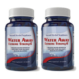 Water Away Natural Diuretic Water Pill (2 bottles)