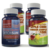 Apple Cider 1500 and Detox Slim Combo pack