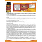 Premium MCT OIL 3000mg (60 Softgels)