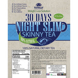 Night Slim Skinny Tea and Black Seed Oil Combo Pack