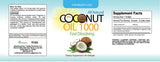 Organic Virgin Coconut Oil (60 Softgels)