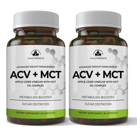 Apple Cider Vinegar with MCT Oil Complex (120 capsules)
