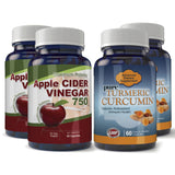 Apple Cider and Turmeric Extract Combo pack