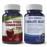 Parasite Blast and Apple Cider Vinegar Combo pack