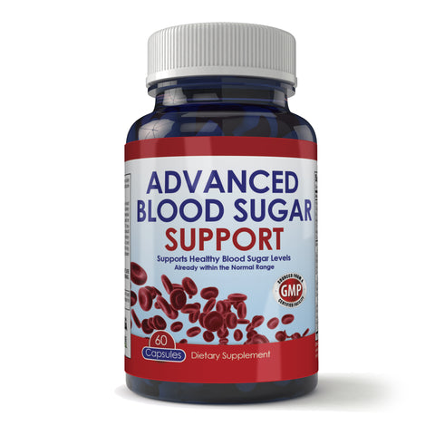 Advanced Blood Sugar Support (60 Capsules)