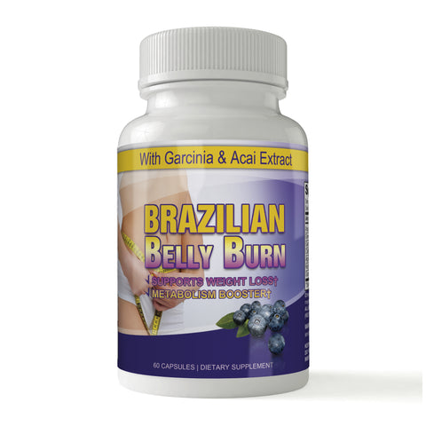 Brazilian Belly Burn with Garcinia and Acai (60 capsules)
