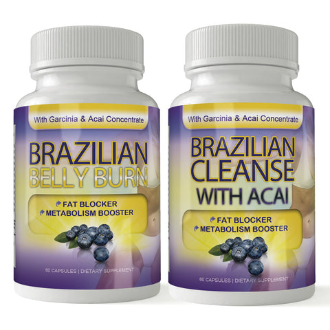 Brazilian Belly Burn and Cleanse Combo
