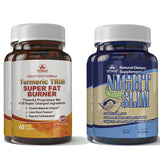 Turmeric Trim and Night Slim Combo Pack