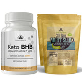 Keto BHB and Night Slim Skinny Tea Combo Pack