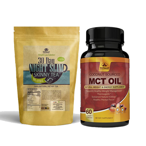 Night Slim Skinny Tea and MCT Oil Combo Pack