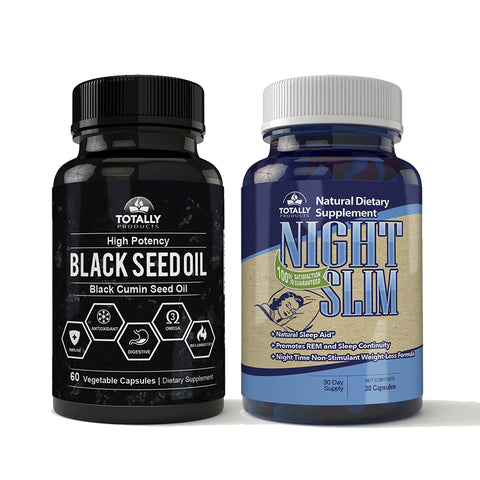 Black Seed Oil and Night Slim Combo Pack