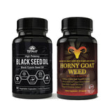 Black Seed Oil and Horny Goat Weed Combo Pack